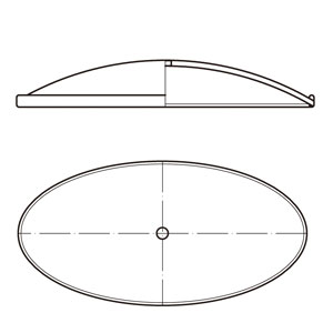 C-Type Oval Lid